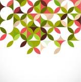 Abstrakt färgrikt blom- modellbegrepp, vektor Arkivfoto