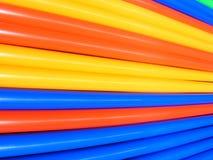 abstrakt färgrikt drinksugrör fotografering för bildbyråer