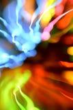 abstrakt färgrikt krökt Royaltyfri Fotografi