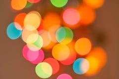 Abstrakt färgsuddighet Royaltyfri Foto