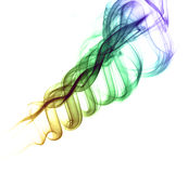 abstrakt färgwaves Arkivfoton