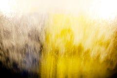 abstrakt fönster för bilwash Arkivfoton