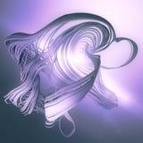 Abstrakt för slingaspår för tolkning 3d effekt Arkivbild