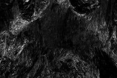 Abstrakt för stenyttersida för mörk svart bakgrund Royaltyfri Fotografi