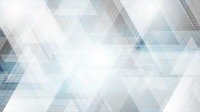 Abstrakt för teknologivideo för blåa grå färger animering arkivfilmer