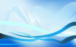 Abstrakt för vågvektor för flödande vatten beståndsdel för design för bakgrund Arkivfoto