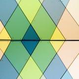 abstrakt facade Arkivbilder