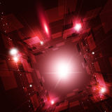 abstrakt faktisk bakgrundsteknologi Royaltyfri Fotografi