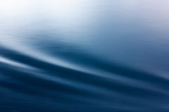 Abstrakt fala na wodzie Obraz Royalty Free