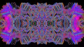 Abstrakt fantasi, utmärkt psykedelisk bakgrund för några avsikter royaltyfri illustrationer