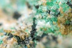 Abstrakt fantastisk bakgrund från en Crystal mineral Arkivbild