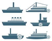 abstrakt fartyg Arkivbild