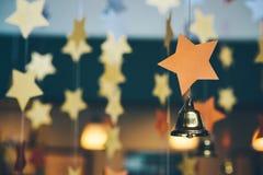 Abstrakt festlig bakgrund, dekorativ garnering, från staen Royaltyfri Fotografi