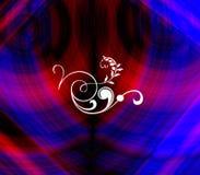 abstrakt filigree swirls Royaltyfri Fotografi