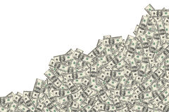 abstrakt finansiell bakgrundssedeldollar Arkivfoto