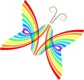 abstrakt fjäril Arkivfoto