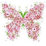 abstrakt fjäril Royaltyfri Bild