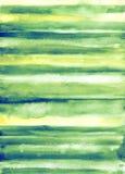 Abstrakt fjädervattenfärgbakgrund Royaltyfria Bilder
