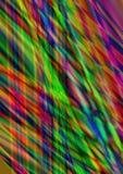 Abstrakt fläckig bakgrund med genomskärning av upplysta band Arkivfoto