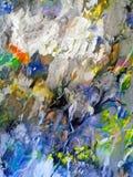 abstrakt flöda för färger royaltyfri bild