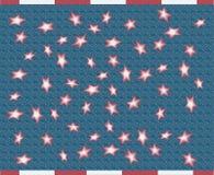 abstrakt flagga Arkivfoto