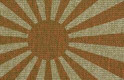 abstrakt flaggajapanse Royaltyfri Foto