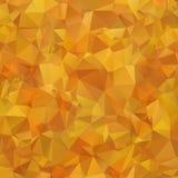 Abstrakt flerfärgad apelsin, geometrisk modell för brun lutning Denna är mappen av formatet EPS10 Polygonal rasterabstrakt begrep stock illustrationer