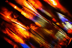 Abstrakt flerfärgad bakgrundsbild för exponeringsglas Arkivfoto