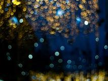 Abstrakt flerfärgad bokehljuseffekt Royaltyfri Fotografi