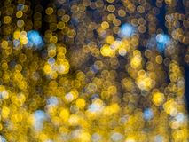 Abstrakt flerfärgad bokehljuseffekt Royaltyfri Foto