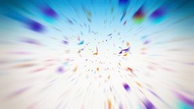 Abstrakt flerfärgad feriebakgrund vektor illustrationer