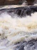 Abstrakt flodvatten Royaltyfri Foto