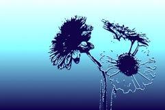 abstrakt floror Arkivbild