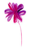 Abstrakt flower1 Arkivfoto