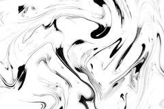 Abstrakt fluid modell royaltyfria foton