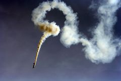 abstrakt flyg- jippo Royaltyfri Foto