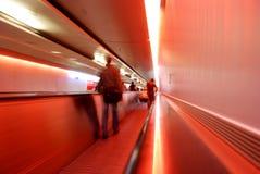 abstrakt flygplatsöverföring arkivfoto