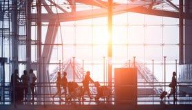 abstrakt flygplats Royaltyfri Fotografi