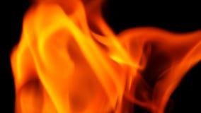 Abstrakt form av brandnärbilden Royaltyfri Bild