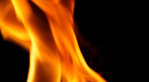 Abstrakt form av brandnärbilden Royaltyfri Fotografi