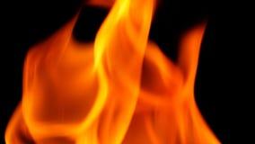 Abstrakt form av brandnärbilden Arkivfoton