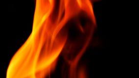 Abstrakt form av brandnärbilden Royaltyfria Foton