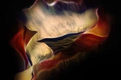Abstrakt form och vibrerande färgrik plats Royaltyfri Bild