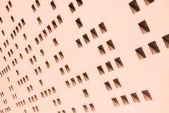 Abstrakt form på väggen Fotografering för Bildbyråer
