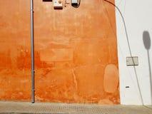 abstrakt fotografi av en vägg Royaltyfri Fotografi