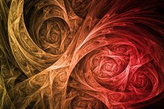 abstrakt främmande biologiteknologi Royaltyfri Fotografi