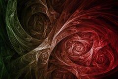 abstrakt främmande biologiteknologi Royaltyfria Bilder