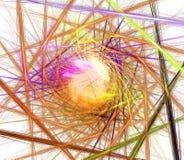 abstrakt fractal Royaltyfria Foton
