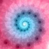 Abstrakt fractal vektor illustrationer
