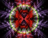Abstrakt fractalbakgrund, textur Arkivbilder